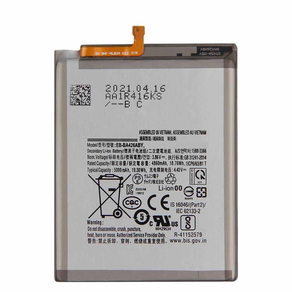 3.86V/4.43V Samsung EB-BA426ABY Akkus