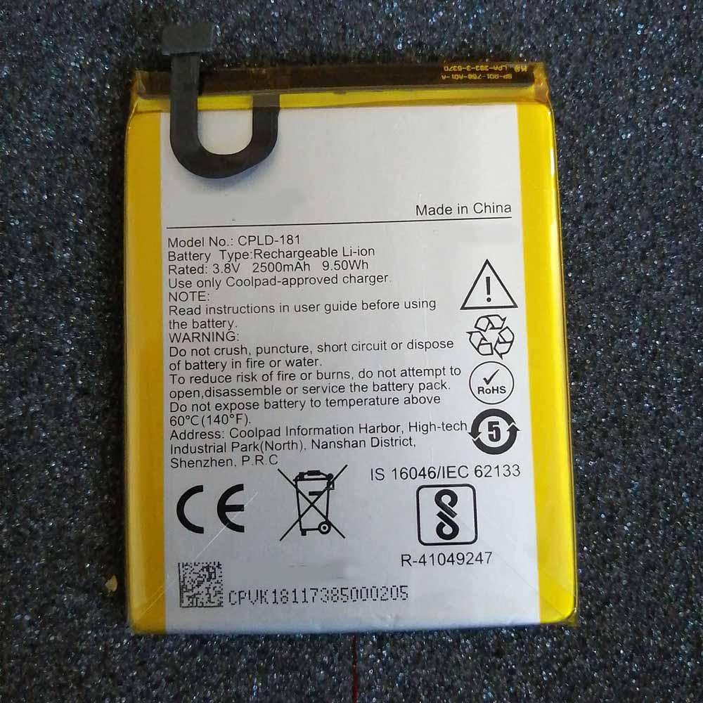 3.8V/4.35V Coolpad CPLD-181 Akkus