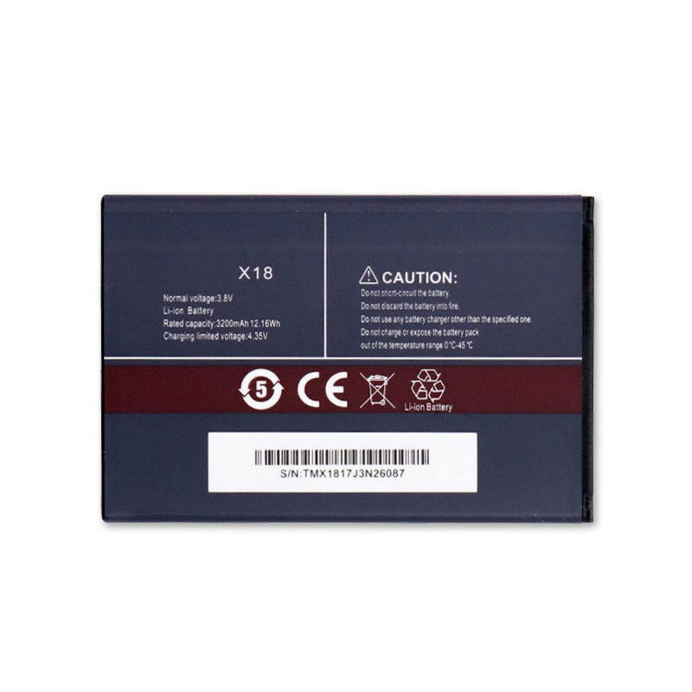 3.8V/4.35V CUBOT X18 Akkus