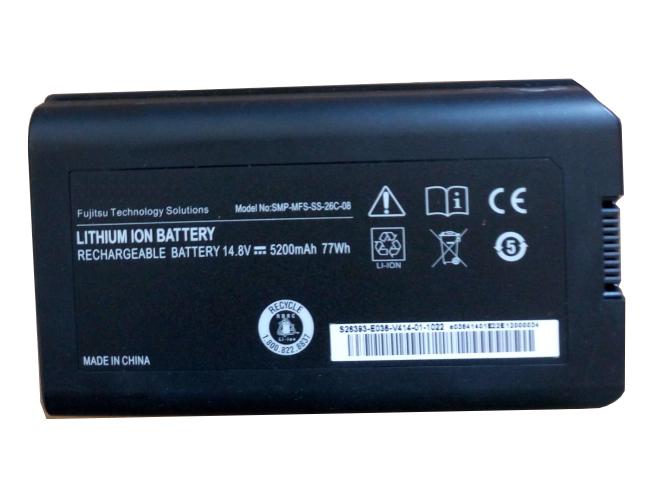 14.8V(not compatible with 11.1V) FUJITSU SMP-MFS-SS-26C-08 Akkus