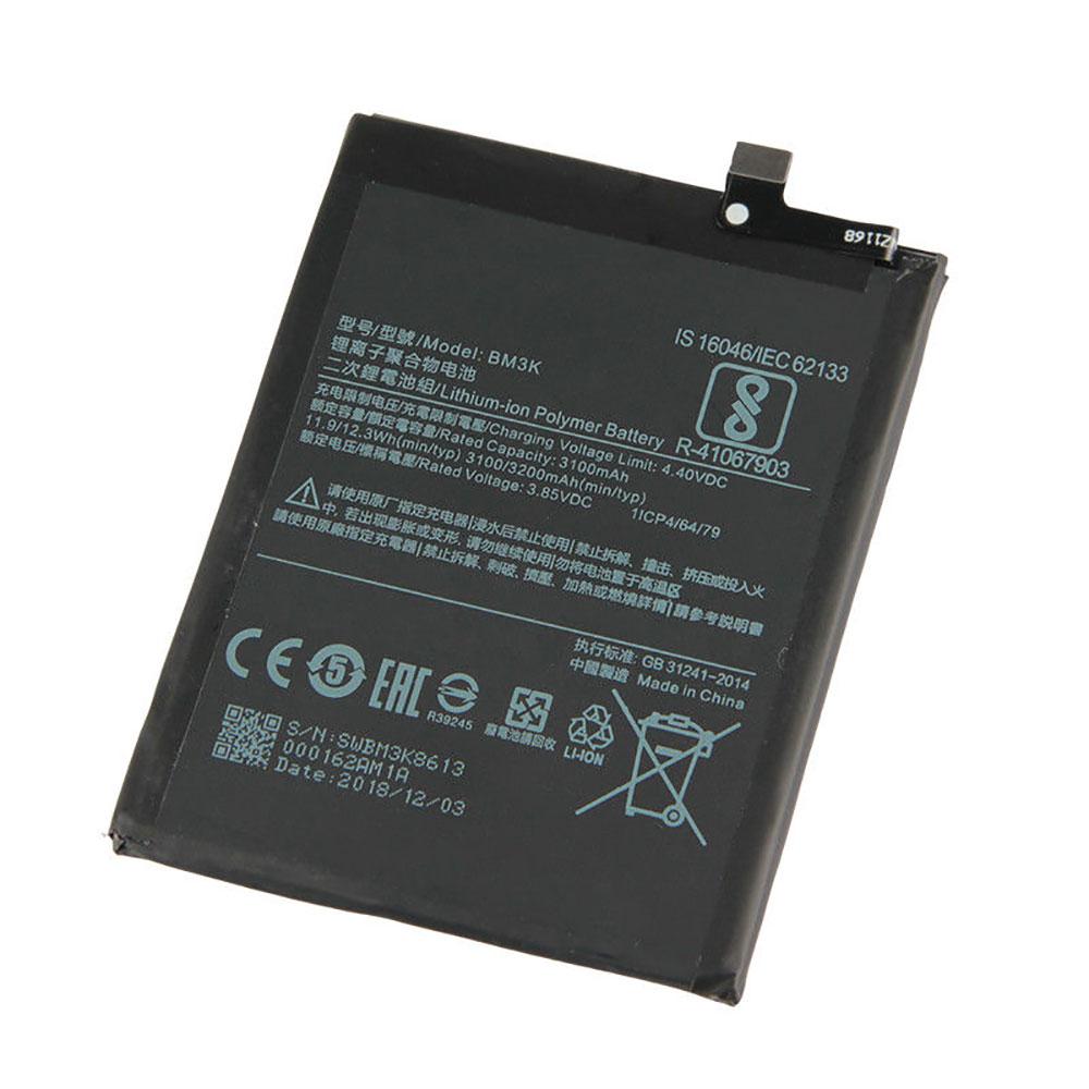 3.85V/4.40V Xiaomi BM3K Akkus